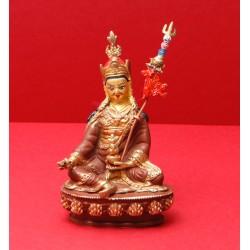 Gurú Rinpoché, latón y cara...