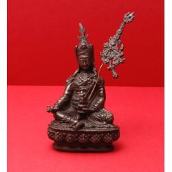Guru Rinpoche, dark brass,...