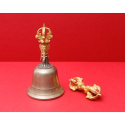 Brass bell - large - 5...