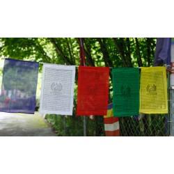 Drapeau bouddha Shakyamuni...