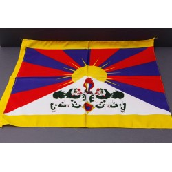 Tibetische Flagge - mittel