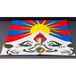 bandera tibetana