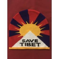Cap with Tibet flag