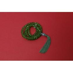 Mala cristal de bohème vert