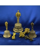 objetos rituales del budismo tibetano